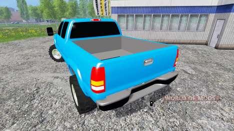 Chevrolet Silverado 2001 para Farming Simulator 2015