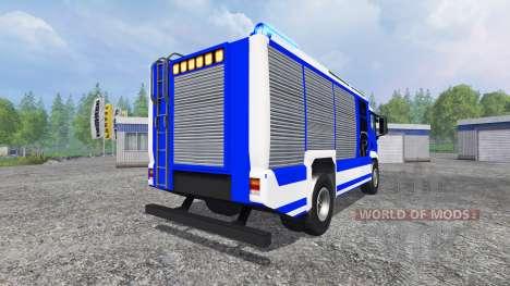 MAN TGM THW para Farming Simulator 2015