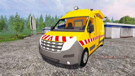Renault Master DIR para Farming Simulator 2015