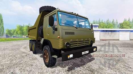 KamAZ-54102 para Farming Simulator 2015