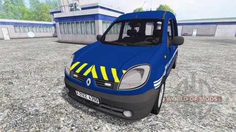 Renault Kangoo Gendarmerie para Farming Simulator 2015