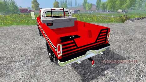 Ford F-250 1972 para Farming Simulator 2015