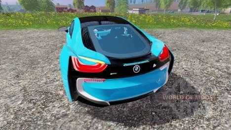 BMW i8 eDrive v1.6 para Farming Simulator 2015
