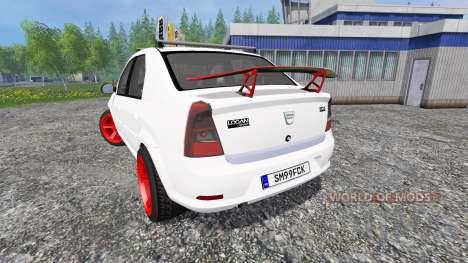 Dacia Logan v8.0 para Farming Simulator 2015