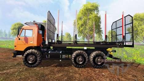KamAZ-45143 [de madera] para Farming Simulator 2015