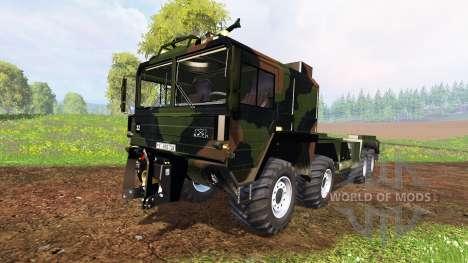 MAN KAT2 WLF para Farming Simulator 2015