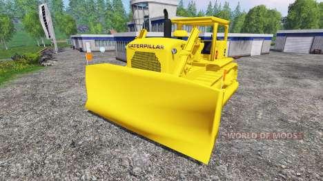 Caterpillar D9G para Farming Simulator 2015