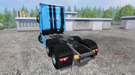 Mercedes-Benz Actros 2014 v2.0 para Farming Simulator 2015