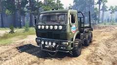 KamAZ-6522 SGS para Spin Tires