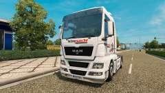 La piel Intersectorial en el tractor HOMBRE para Euro Truck Simulator 2