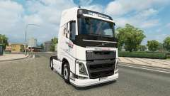 Intersectorial de la piel para camiones Volvo para Euro Truck Simulator 2