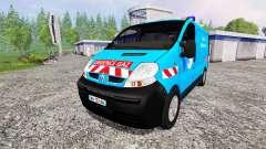 Renault Trafic [urgence gaz] v2.0