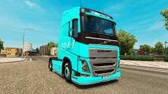 EDCG de la piel para camiones Volvo para Euro Truck Simulator 2