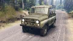 UAZ-3151 para Spin Tires
