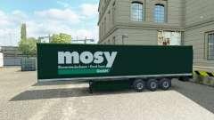 La piel Mosy en semi-remolque para Euro Truck Simulator 2