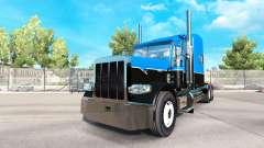 La piel Caliente de la Carretera sobre un tractor las Plataformas de Peterbilt 389 para American Truck Simulator