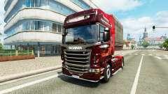 La navidad de la piel para Scania camión para Euro Truck Simulator 2