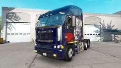 La piel de Putin en el camión Freightliner Argosy para American Truck Simulator