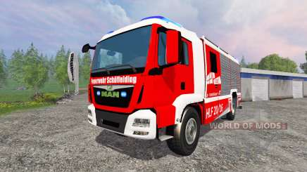 MAN TGM [firefighter] para Farming Simulator 2015