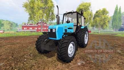 Bielorrusia-1221 v2.0 [azul] para Farming Simulator 2015