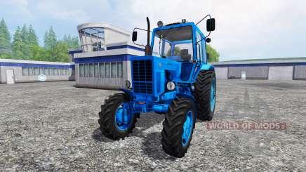MTZ-82 [azul] para Farming Simulator 2015