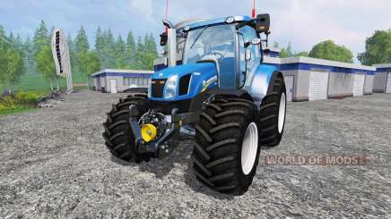 New Holland T6.160 v1.0 para Farming Simulator 2015