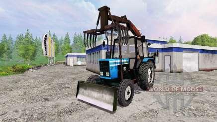 MTZ-82.1 [cargador del ataque] para Farming Simulator 2015