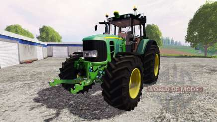 John Deere 7530 Premium v2.1 para Farming Simulator 2015