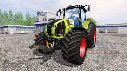 CLAAS Axion 850 v1.2 para Farming Simulator 2015