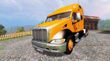 Peterbilt 387 [roadtrain] para Farming Simulator 2015