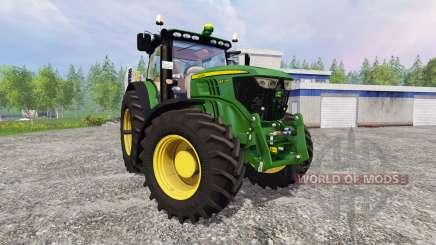 John Deere 6210R v2.1 para Farming Simulator 2015