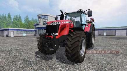 Massey Ferguson 8737 v1.0 para Farming Simulator 2015