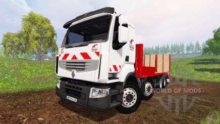 Renault Lander [plateau] para Farming Simulator 2015