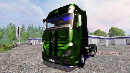 Mercedes-Benz Actros MP4 NOS Hardcore para Farming Simulator 2015