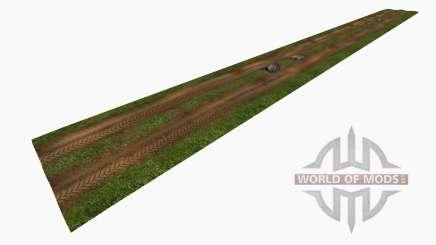 Wet dirt roads para Farming Simulator 2015