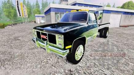 GMC 3500 1986 [flatbed] para Farming Simulator 2015