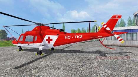 Agusta A.109 [rescue] para Farming Simulator 2015