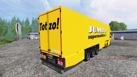 Scania R730 Jumbo para Farming Simulator 2015