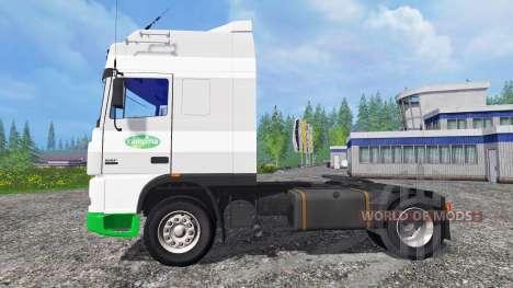 DAF XF Campina para Farming Simulator 2015