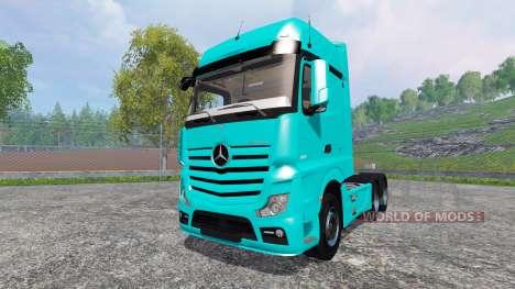 Mercedes-Benz Actros 2014 para Farming Simulator 2015
