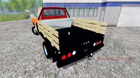 Dodge D-250 Flatbed para Farming Simulator 2015
