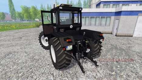 Mercedes-Benz Trac 1800 Intercooler [black] para Farming Simulator 2015
