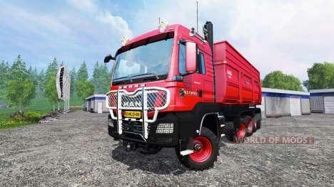 MAN TGS 10x8 v1.3 para Farming Simulator 2015