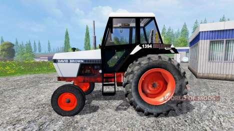 David Brown 1394 2WD para Farming Simulator 2015