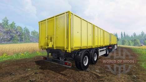 MAN TGS 6x4 [pack] v1.1 para Farming Simulator 2015
