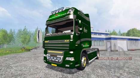 DAF XF Heineken para Farming Simulator 2015