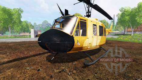 Bell UH-1D [sprayer] para Farming Simulator 2015