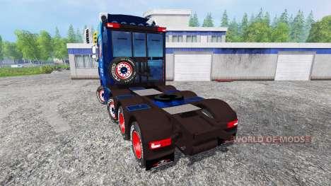 DAF XF para Farming Simulator 2015