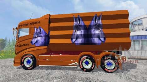 Scania R1000 [tipper] para Farming Simulator 2015