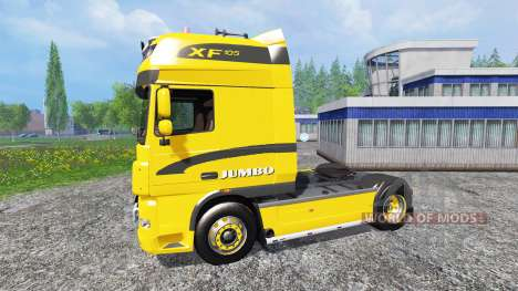 DAF XF Jumbo para Farming Simulator 2015